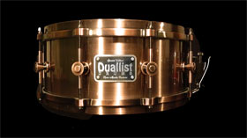 Duallist Copper-look Snare Drum